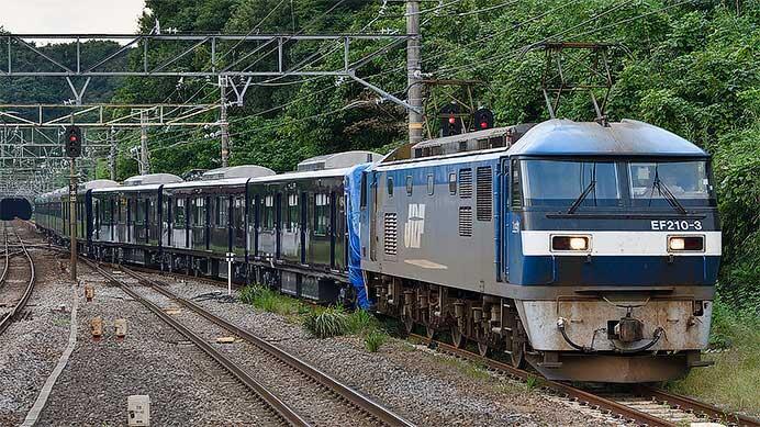 相模鉄道20000系第3編成が甲種輸送される