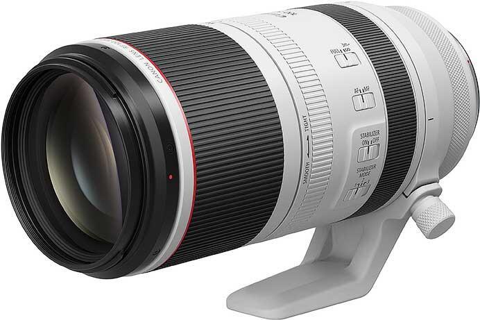 キヤノン,「RF100-500mm F4.5-7.1 L IS USM」を9月下旬に発売