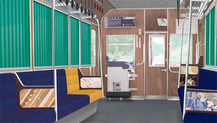 叡電,700系リニューアル車(723号車)を10月18日から運転開始