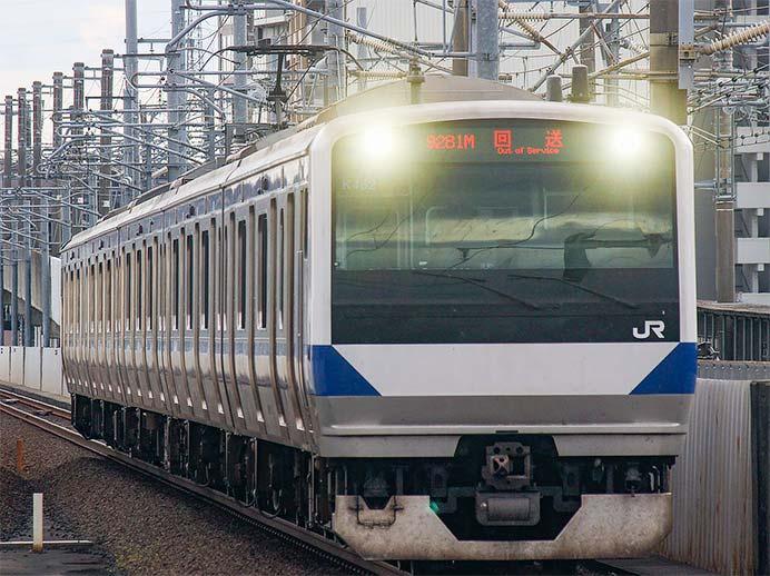 E531系が仙台へ