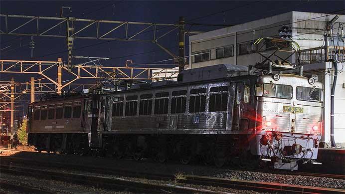日豊本線の4074列車が重連単機で運転される