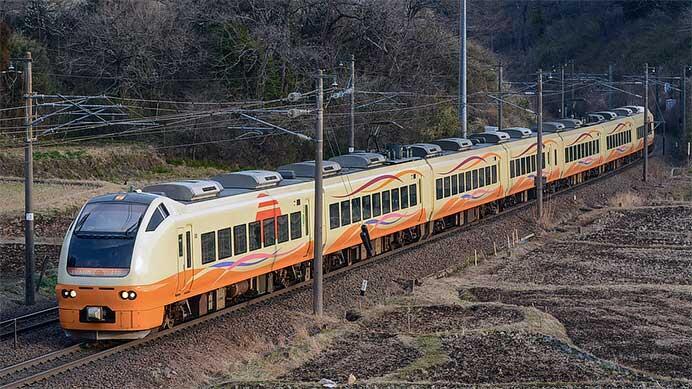東北本線でE653系による臨時快速列車運転