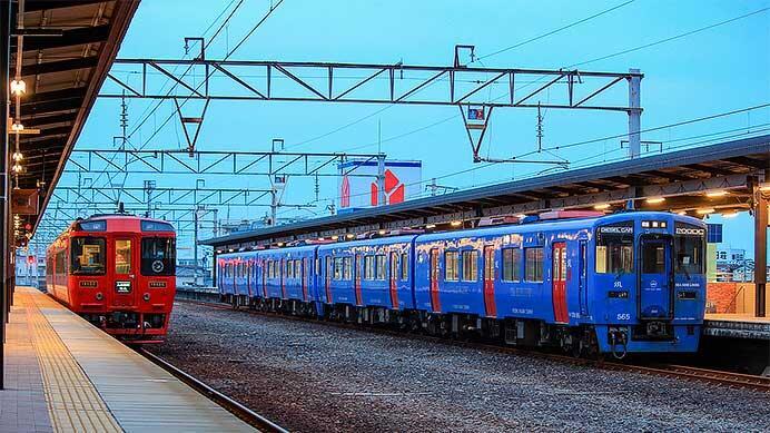 キハ200系4両が日豊本線経由で回送される