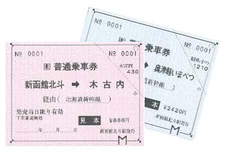 北海道新幹線「常備乗車券(オリジナル台紙付)」を発売