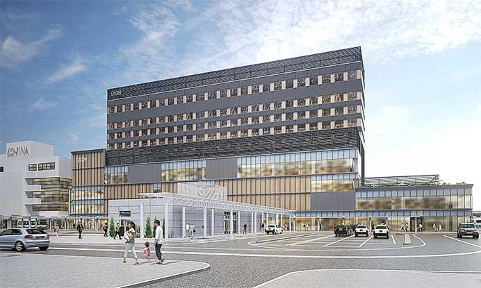 3月27日から青森駅新駅舎・自由通路の供用を開始