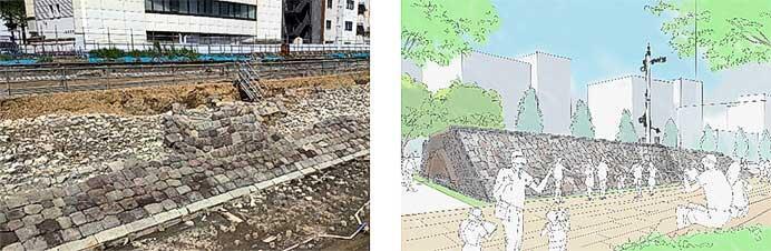 JR東日本,「高輪築堤」の調査・保存方針を決定