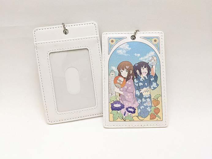 山万ユーカリが丘線「Yukari Line girls(さくら&ゆかり)オリジナルパスケース」発売
