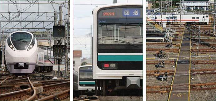 JR東日本,「勝田車両センターオリジナルクリアファイル(3種類)」を発売