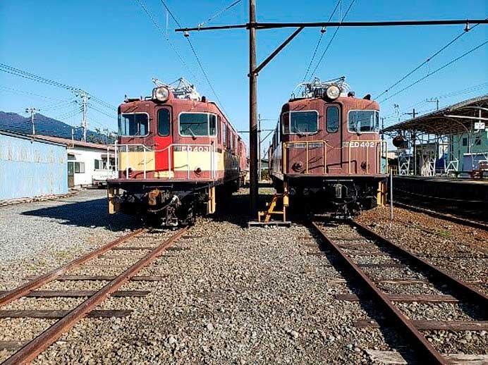岳南電車,岳南富士岡駅に電気機関車公園(仮称)をオープン
