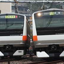 新宿駅工事にともなう運転変更