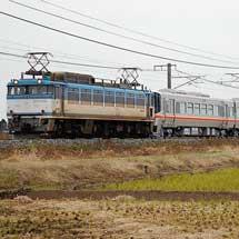 キハ127系6両が甲種輸送される