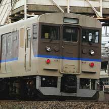 115系6500番台が山陽本線で営業運転を開始