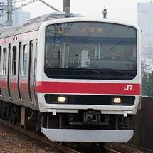 もとウラ81編成,京葉線で営業運転を開始