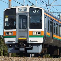 静岡車両区の211系などに小変化