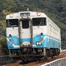 阿佐海岸鉄道に再びキハ40が入線