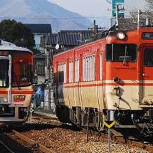 姫路鉄道部キハ47形2両,豊岡へ回送される