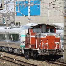 DD51 1188,683系甲種輸送をけん引
