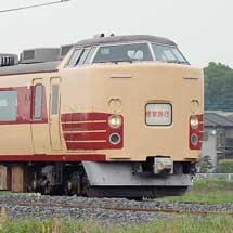 189系H102編成を使用した修学旅行臨が運転される