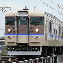 岡山電車区115系K編成から湘南色がついに消滅