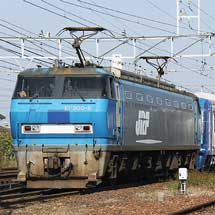 EF200-9が東京メトロ10000系甲種輸送をけん引