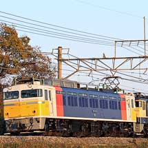 EF65 1105とスハネフ14 35が秋田へ