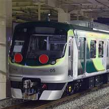 東急7000系7105編成が甲種輸送される