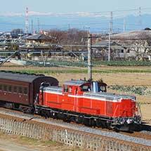 高崎線でDD51使用の乗務員訓練実施