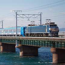 東京メトロ15000系が甲種輸送される