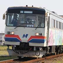 長良川鉄道のナガラ10が樽見鉄道で営業運転に