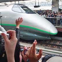 400系新幹線電車がラストラン