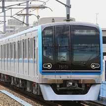 東京メトロ15000系の試乗会
