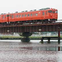 首都圏色キハ40が3連を組み,釧路以東へ初入線