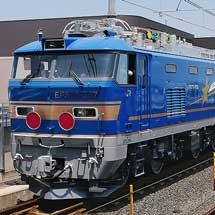 EF510-507が甲種輸送される