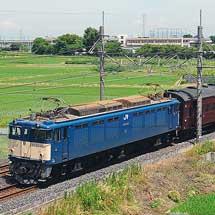 旧形客車3両が高崎へ返却される