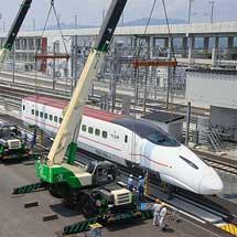 800系U009編成,熊本総合車両基地へ搬入