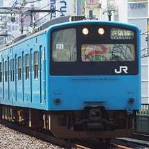 201系ケヨ51編成が返却される