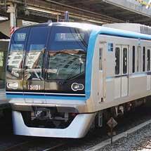 東京メトロ15000系,JR線内で試運転