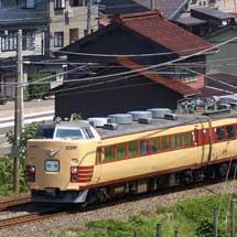 485系T18編成が富山へ