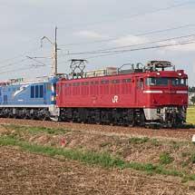 EF510-507と24系が日本海縦貫線経由で回送される