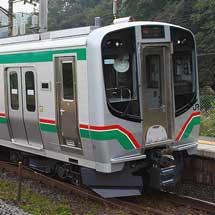 E721系と701系が併結運転を開始