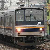 205系が東海道・山陽緩行線で運用開始