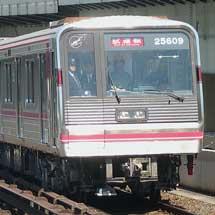 大阪市交25系第9編成が中央線で試運転