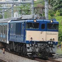 もとウラ57編成6両が東京総合車両センターへ