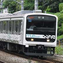 「MUE-Train」が東京総合車両センターへ
