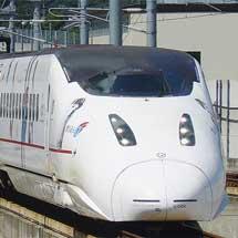 九州新幹線800系にホークス応援ラッピング編成登場