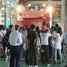 金沢総合車両所松任本所が一般公開される