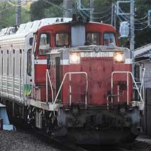 秩父鉄道7500系が甲種輸送される