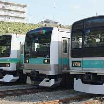 『209系で行く松戸車両センター特別公開への旅』開催