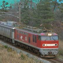 EF81 303が富山貨物へ