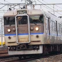 日根野電車区の113系G406,G407編成が下関へ